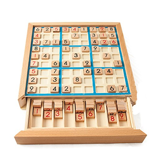 KingFly 数独ゲーム ボード 9ブロック キッズ子供教育玩具 青