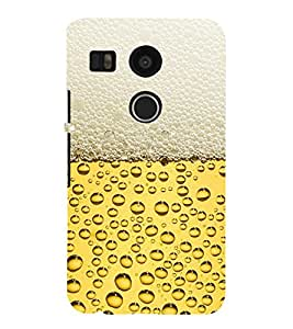 EPICCASE Beer Bottle Mobile Back Case Cover For LG Nexus 5x (Designer Case)