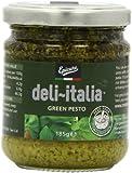 Epicure for Deli-Italia Green Pesto 185 g (Pack of 6)