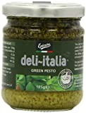 Epicure for Deli-Italia Green Pesto 185 g (Pack of 6)