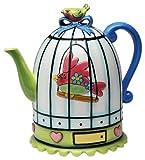 Appletree Design Flights of Fancy Teapot, 6-1/2-Inch