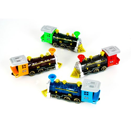 7 Inch Die Cast Pull Back Locomotive- Single Unit