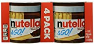 Nutella and Go Hazelnut Spread, 4 Count