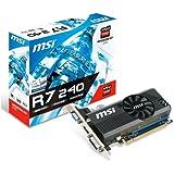 MSI R7 240 2GD3 VGA ATI Radeon R7 MSI R7 240 2GD3 VGA ATI Radeon R7 240 730 MHz 2048 Mo PCI Express