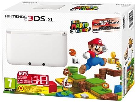 Nintendo 3DS - Consola XL Blanca + Super Mario 3D Land