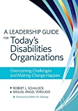 img - for A Leadership Guide for Today's Disabilities Organizations: Overcoming Challenges and Making Change Happen book / textbook / text book