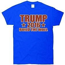 Trump 2016 Build The Wall Brick T-Shirt