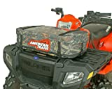 American Trails - Small Trunk ATV Rack Bag Mossy Oak - Zipperless Magnetic Closure - w/ Map Window & Rain Cover