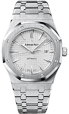 Audemars Piguet Royal Oak Silver Dial Stainless Steel Automatic Mens Watch 15400ST.OO.1220ST.02