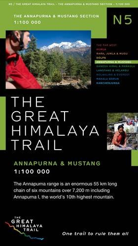 The Great Himalaya Trail N5: The Annapuma & Mustang Section
