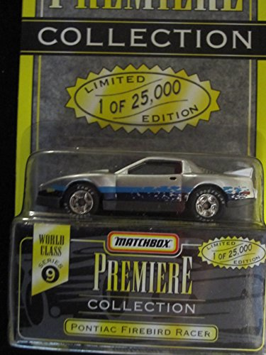 Matchbox Premiere Pontiac Firebird Racer Series 9 (34312) Color Silver - 1