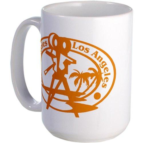 Cafepress Los Angeles Passport Stamp Large Mug Large Mug - Standard