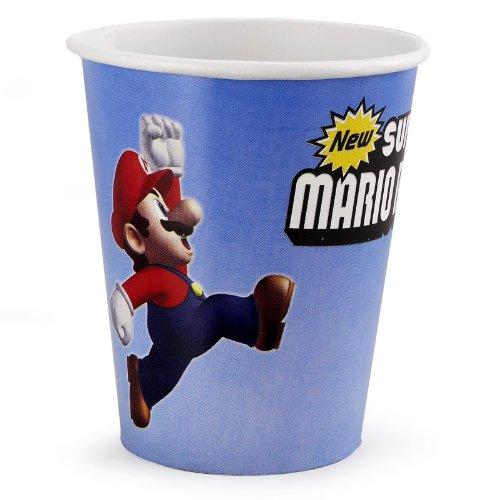 Super Mario Bros. 9 oz. Cups (8) Child
