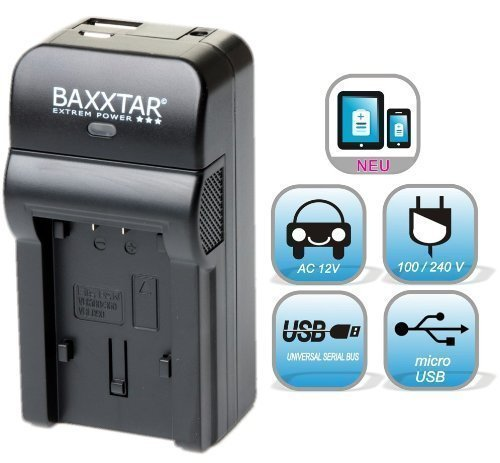 5 in 1 für SONY NP-FW50 Bundlestar Baxxtar RAZER 600 II (70% mehr Leistung 100% mehr Flexibilität) Ladegerät zu Sony ILCE QX1 Alpha 5000 5100 6000 6300 Alpha 7 und 7 II 7S CyberShot DSC RX10 -- Sony NEX-6 NEX-F3 NEX-7 NEX-7B NEX-7C NEX-7K NEX-3 NEX-3N NEX-C3 Nex-5 NEX-5N NEX-5K NEX-5R SLT A55 A33 A35 A37 A3000 usw -- NEUHEIT mit Micro USB Eingang und USB-Ausgang, zum gleichzeitigen Laden eines Drittgerätes (GoPro, iPhone, Tablet, Smartphone..)