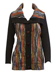 Canyon Comfortable Cardigan Sweater Multicoloured