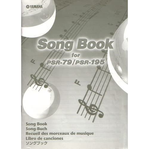 Yamaha Song Book for PSR-79/PSR-195 Unknown