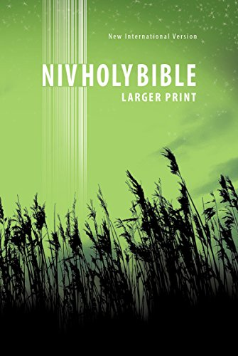 NIV, New Testament, Large Print, Paperback, Green