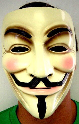 V for Vendetta Adult Mask Lot of 10