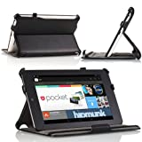 MoKo Slim-fit Cover Case for Google Nexus 7 Android Tablet by Asus, Black - 並行輸入品