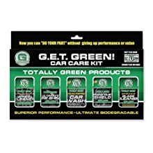 Green Earth Technologies 01915   5 Pack Car Care Kit With License Plate