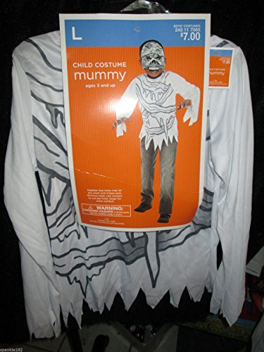 Mummy Child Costume L Large 10-12