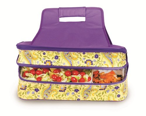 Picnic Plus Entertainer Hot & Cold Food Carrier (Buttercup) - 1