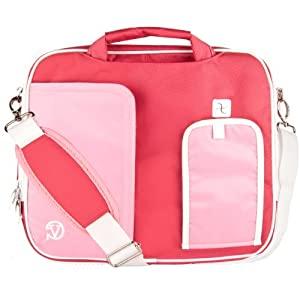 "VG Pindar Edition Messenger Bag Carrying Case (Creamy Pink) for Microsoft Surface RT 2 / Pro 2 10"" Tablets"