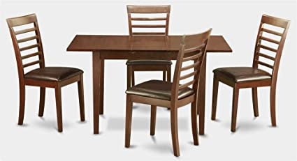 Rectangular Table with 4 Dining Chairs