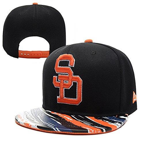 mlb-san-diego-baseball-cap-padres-hip-hop-flat-snapback-color-one-size