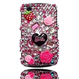 Rhinestone Diamante Bling Crystal Back Case Cover For BlackBerry Curve 8520by Give Me A Chance