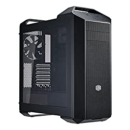 MasterCase 5 Mid-Tower Case with FreeForm Modular System, Dual Handle Design and Window Side Panel
