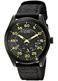 Citizen Men's BV1085-14E Eco-Drive Black Nylon Strap Watch
