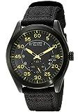Citizen Men's BV1085-14E Eco-Drive Black Nylon Strap Watch