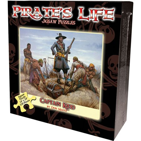 Pirate's Life Boxed Puzzle - Captain Kidd