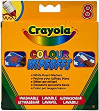 Comprar Crayola 8223 - 8 Rotuladores Para Pizarra Blanca