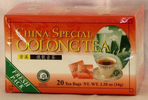 Tea Pot Brand China Special Oolong Tea (20 Bags)