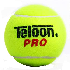 Set of 3 Teloon Pro Junior Special Training Tennis Balls- 2.5 inches from Blancho Bedding
