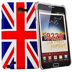 Accessory Master - Coque de protection arrière drapeau UK / d'Angleterre / pour samsung galaxy note i9220