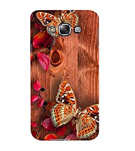 Mental Mind 3D Printed Plastic Back Cover For Samsung Galaxy E5- 3DSAME5-G1122