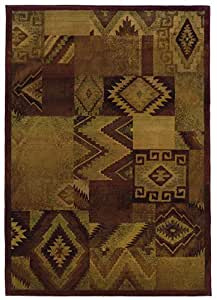"Amazon.com - Kharma Ii Collection Woven Rug (#022R4) 2'3"" X 4'5 - Area"