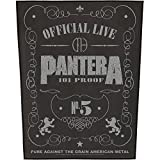 PANTERA R�CKENAUFN�HER / BACKPATCH #5