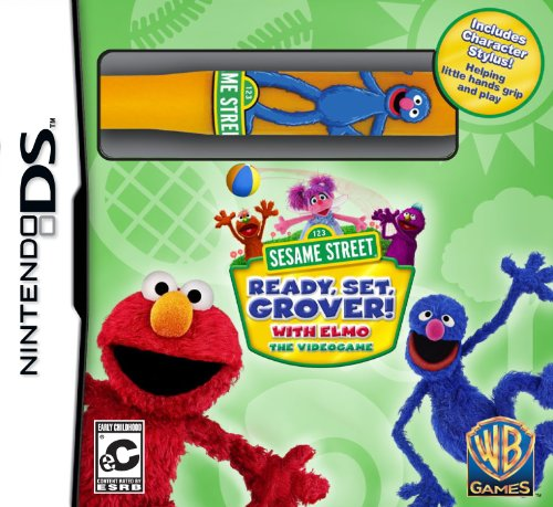 Sesame Street: Ready, Set, Grover! - Nintendo DS - 1