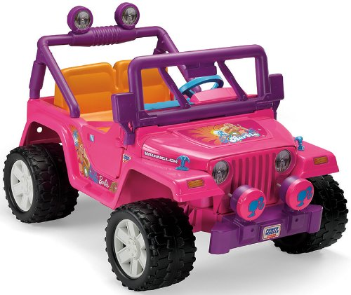 Barbie Electric Car Jeep
