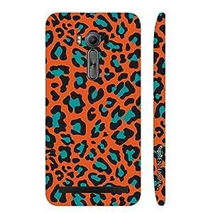 Asus Zenfone 2 Laser ZE500KL Cheetah Print designer mobile hard shell case by Enthopia