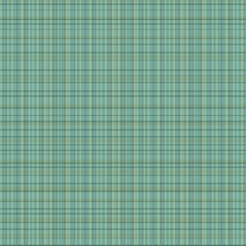 WallCandy Arts Wallpaper, Plaid Green