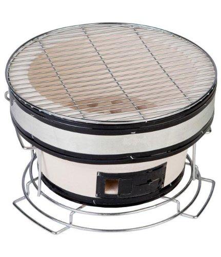 Yakitori Grill, 7.49Hx11.43Wx11, WHITE (Clay Charcoal Grill compare prices)