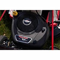 """Convenient 6-speed Shift-on-the-go Transmission Unique OHV Technology 38"""" 11.5 HP Riding Mower, Red from Murray"""