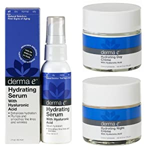 Derma e Hyaluronic Acid Night Creme Intensive Rehydrating Formula