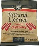 RJ's Natural Soft Eating Raspberry Licorice Bag 300 g (Pack of 3)