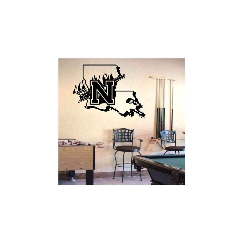 Ncaa Wall Mural Vinyl Sticker Sports Logos Northwestern State Demons (S675)